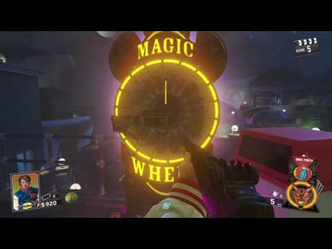Zombies In Space Land 2 Magic Wheel Challenge!