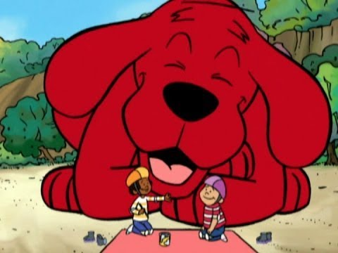 clifford-the-big-red-dog-full-episodes---big-red-dog-thingking-adventures---clifford-puppy-days