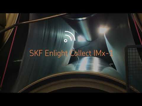 Comment fonctionne notre système de surveillance automatisé SKF Enlight Collect IMx-1 ?