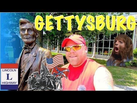 Addressing Gettysburg, Trip, & Dog-Man Museum