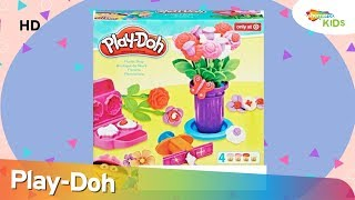Play-Doh Florist Shop Unboxing Video For Kids | Shemaroo Kids Junior