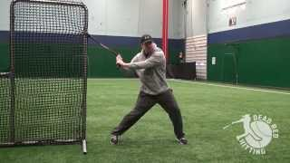 how to create bat speed with hip torque and explosion   baseball hitting drill