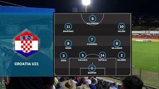HRVATSKA U-21 vs ŠKOTSKA U-21 1:2 (1. kolo, kvalifikacije za EP 2021.)