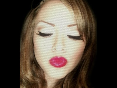 Mon laferte look maquillaje pin up youtube - Maquillage pin up ...
