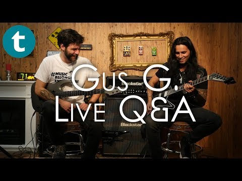 Gus G.   Live Q&A   Gear, Technique And Shredding!