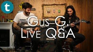 Gus G. | Live Q&A | Gear, Technique and Shredding! thumbnail
