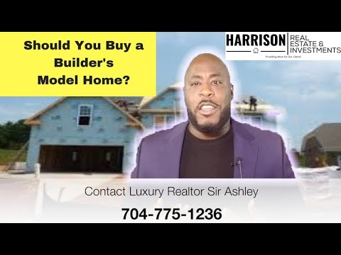 3 Main Reasons to NOT Buy a Model Home From a Home Builder | Charlotte Luxury Realtor Sir Ashley