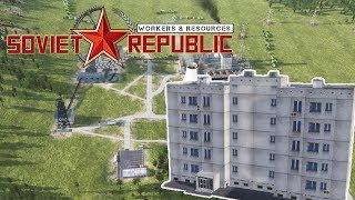 НАША РЕСПУБЛИКА #1 Прохождение Workers & Resources Soviet Republic