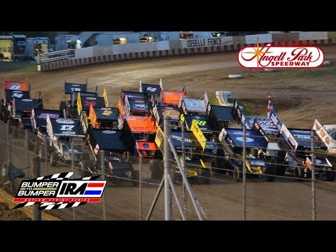 Bumper to Bumper IRA Outlaw Sprint Series @ Angell Park Speedway | A Main Feature Race (7-28-2019)