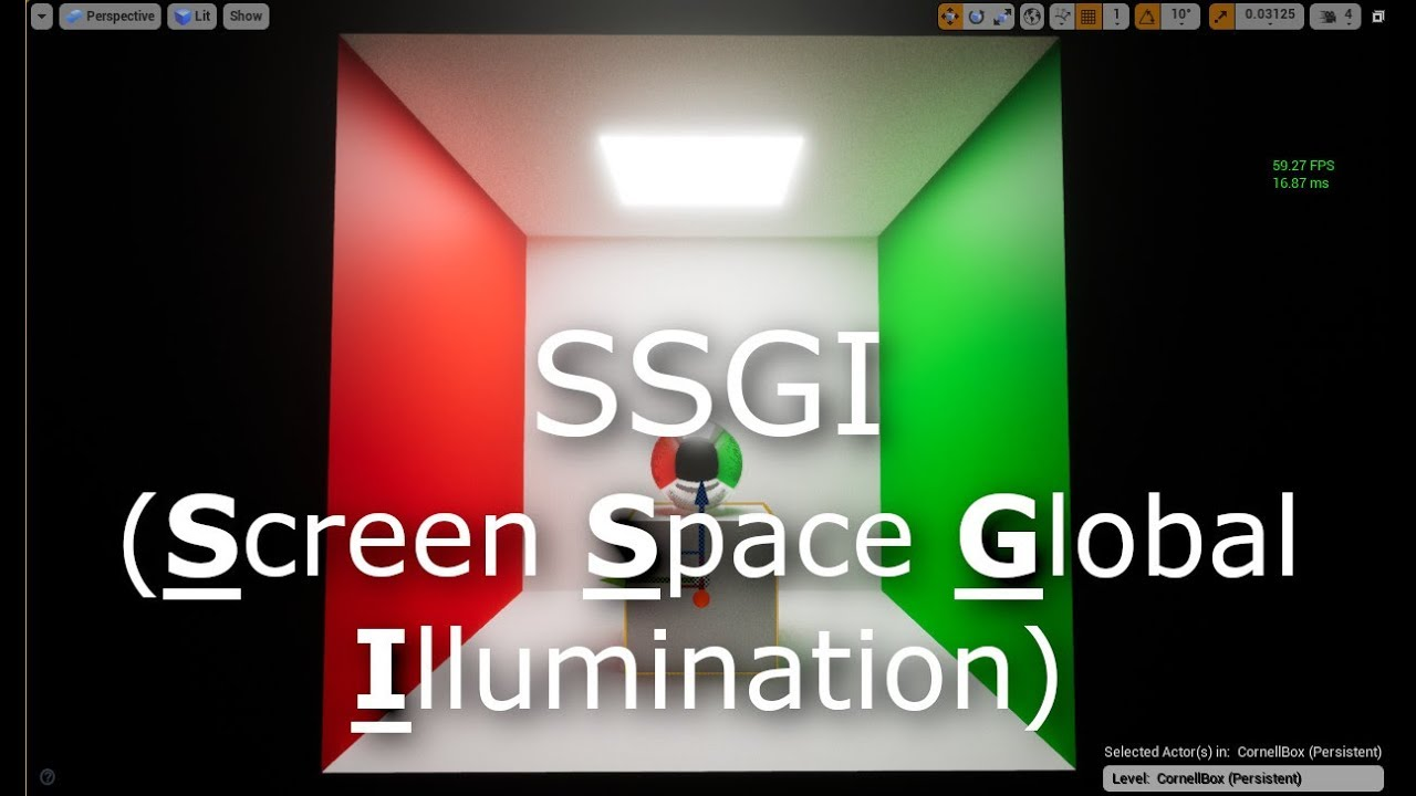 Screen Space Global Illumination (SSGI) - Unreal Engine Forums