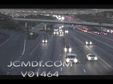 Time lapse traffic Antelope Valley freeway 14 V01464