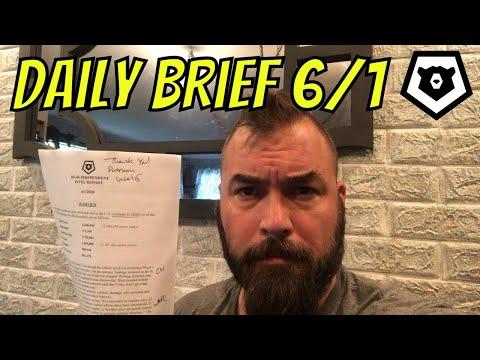 Bear Daily Brief 1 JUN 2020