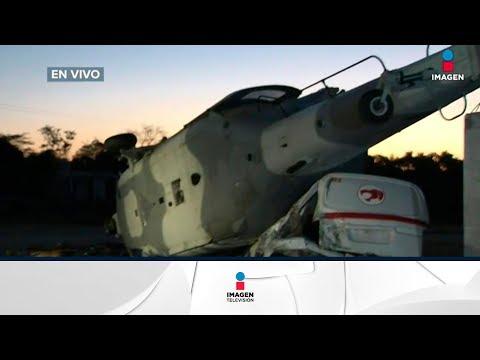 Situación en Jamiltepec, Oaxaca tras caída de un helicóptero militar | Noticias con Francisco Zea