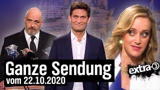 Extra 3 vom 22.10.2020 mit Christian Ehring