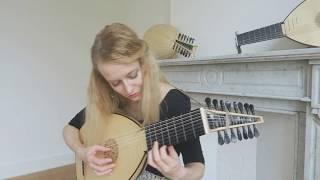 Ieva Baltmiskyte plays Lachrimae (Flow My Tears) by John Downland on 8 course lute by Muzikkon