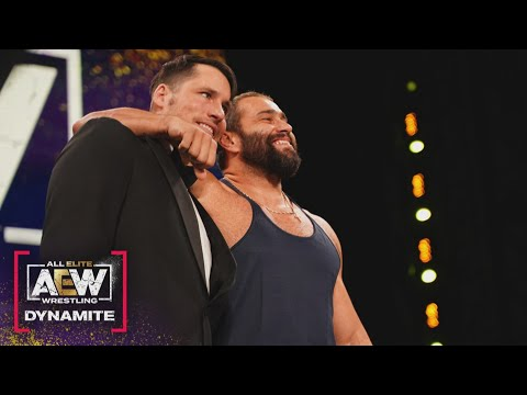 Does Charles Taylor Have a New Best Friend? | AEW Dynamite, 1/20/21