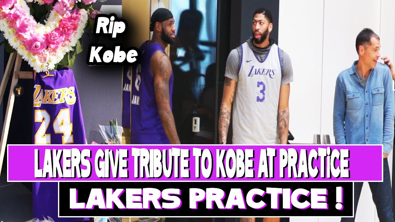 LA Lakers honor Kobe Bryant with jerseys for fans in first game since ...