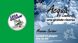 Conferenza Lega Giovani Lombardia - Massimo Sertori