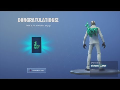 *UNLOCKED* NEW *FREE* 'CRYSTAL' Back Bling After WINNING GETAWAY Victory Royale!
