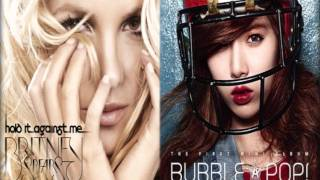 Mash-up Britney Spears vs Hyuna - Hold It Against My Bubble Pop!