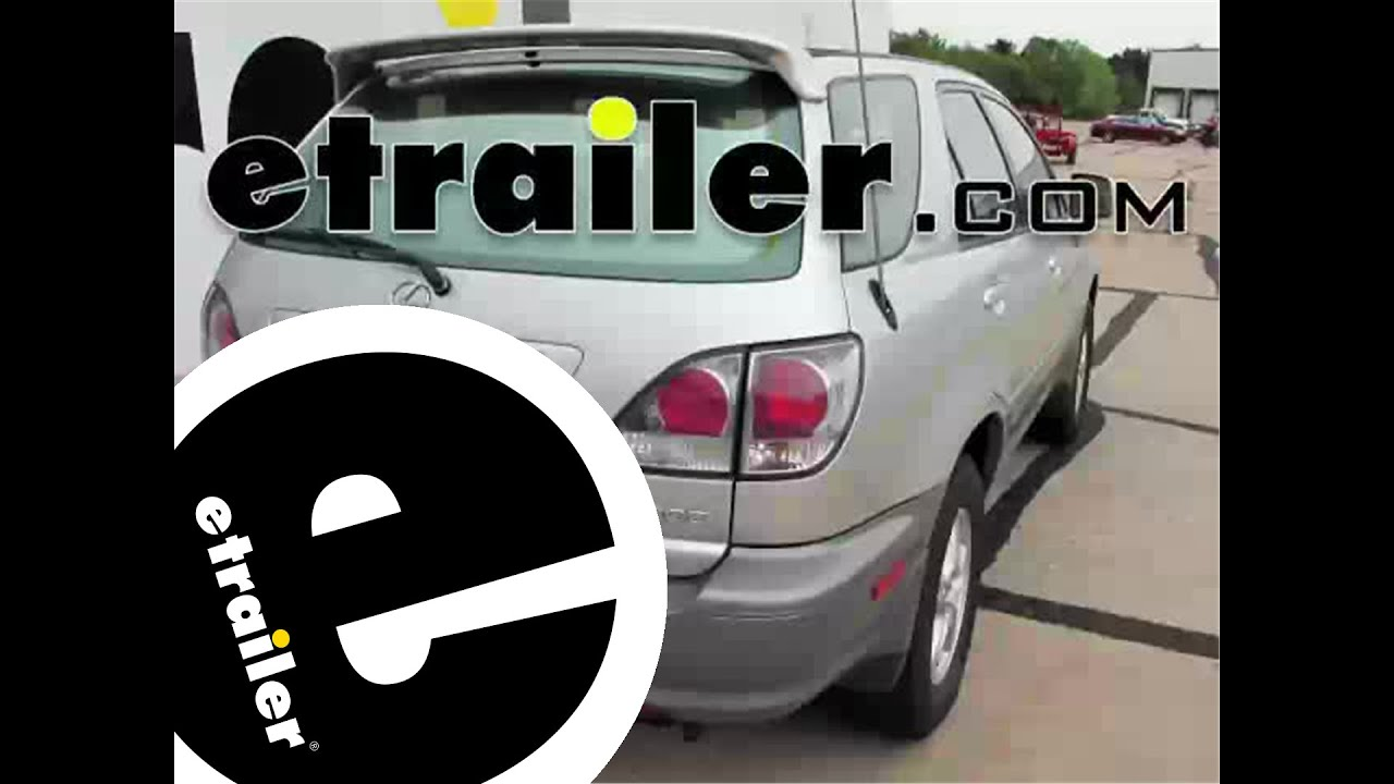 install trailer wiring 2003 lexus rx 300 118245 etrailer com youtube rh youtube com install trailer hitch wiring rav4 how to install a trailer hitch wiring harness 2007 honda ridgeline