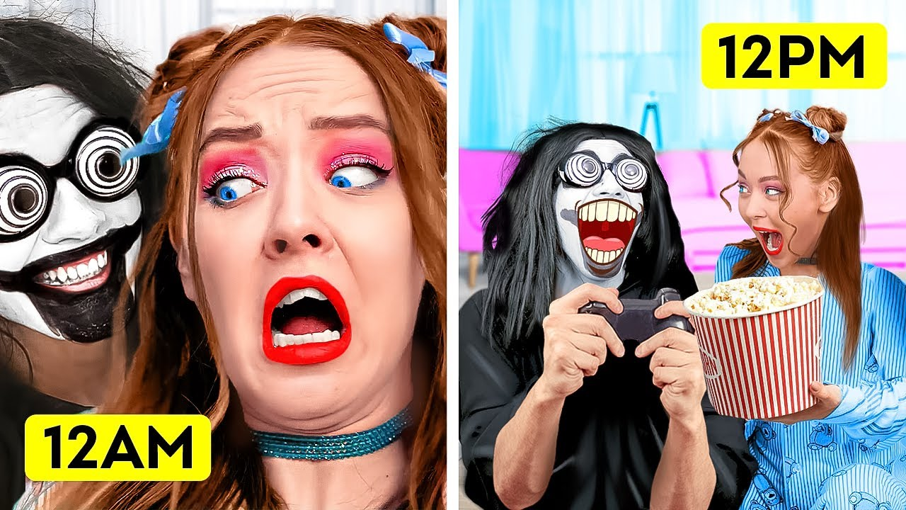 Opposite Day In A Parallel World   HOW TO BECOME POPULAR    Funny Situations by La La Life School
