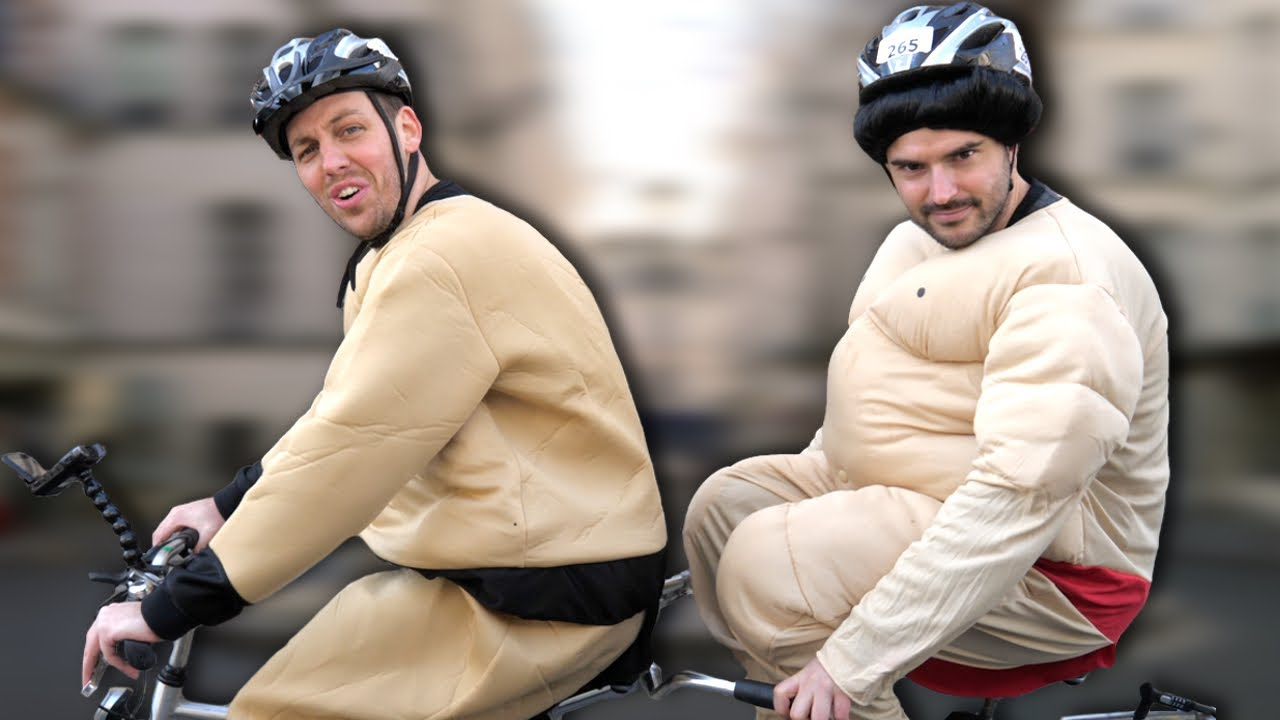 Une journée à deux sur un vélo