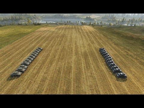 World of Tanks - 12 M4 vs 12 Pz IV  [ Versus Seri ] thumbnail