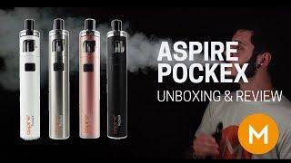 Aspire Pockex - The Best AIO VAPE? Unboxing, Tutorial, Reveiw