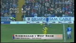 17-02-2001 Birmingham City 2 West Bromwich Albion 1