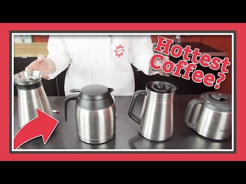 The Best Thermal Carafe For Coffee | Latte Lab