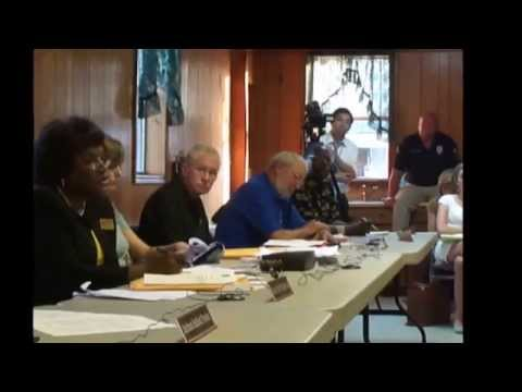 Gordon Mayor Lue; Atty. Boone Removed; (#3. of 3); Councilman Densley; Smallwood Voting