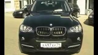 Автомобиль BMW X5 E70 БМВ Х5 тест драйв