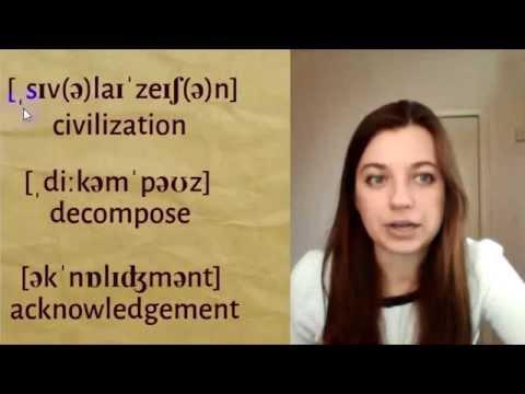 Чтение слов по транскрипции #АнглийскаяТранскрипция