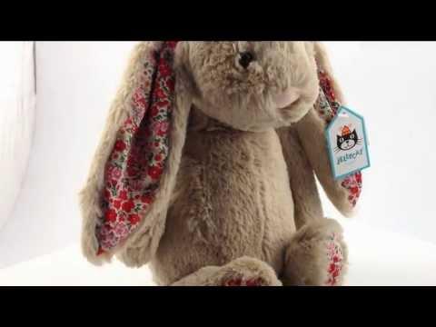 Jellycat Bashful Bunny Blossom Beige 31cm