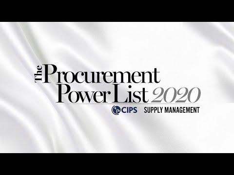 Procurement Power List 2020: Championing Change   CIPS