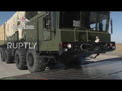 Russia: Second phase of S-400 dery to Turkey complete - Ministry of Defence