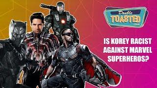 IS KOREY COLEMAN RACIST AGAINST MARVEL SUPERHEROES?!