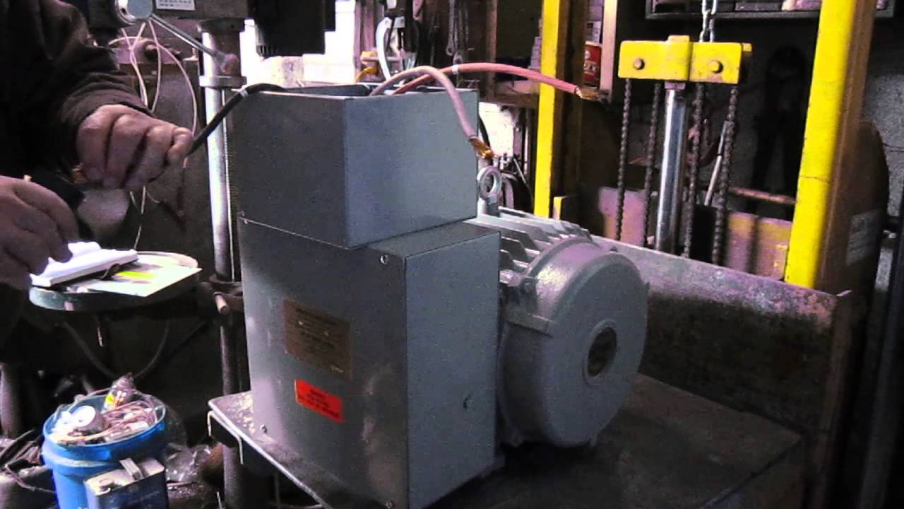 snyder rotary phase converter demonstration youtube rh youtube com