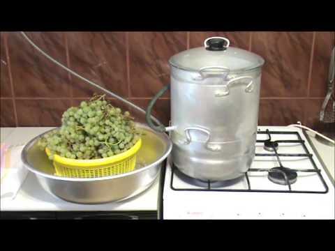 Как варить сок виноградный в соковарке