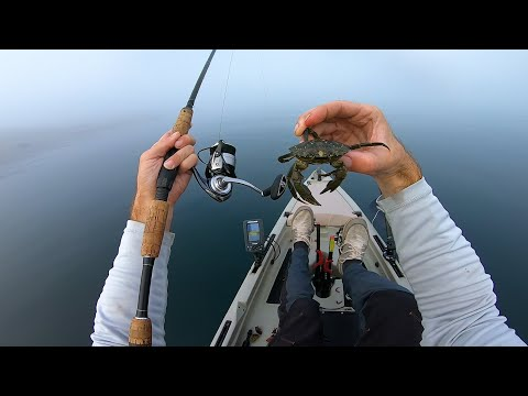 Catching A Limit With Mr Crabs In Thick White Out Fog Conditions