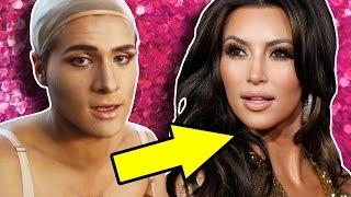 kim k makeup tutorial bts