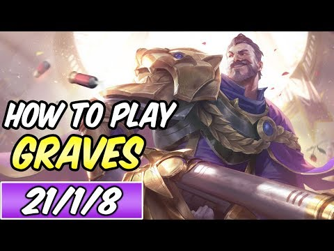 HOW TO PLAY GRAVES | Build & Runes | PENTAKILL | Diamond Commentary | League of Legends