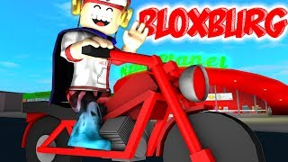 BLOXBURG-ROBLOX how was our day's work