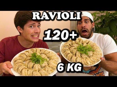 6 KG RAVIOLI CHALLENGE - Fois vs Marcello ascani