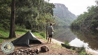 Solo Aussie Bushcraft Canoe Trip