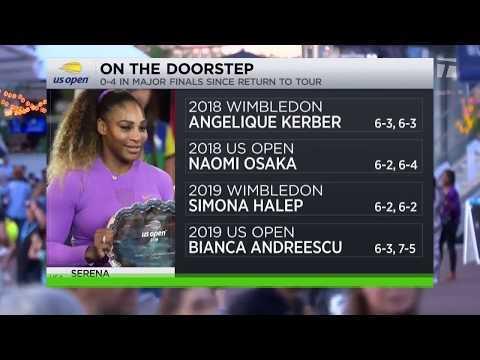 Tennis Channel Live: Serena Williams Loses Second Straight US Open Final