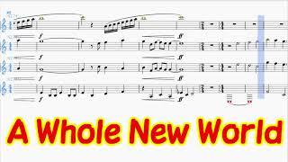 【A Whole New World】