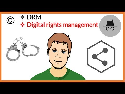 What is digital rights management - DRM   Explained in hindi   Tutorial