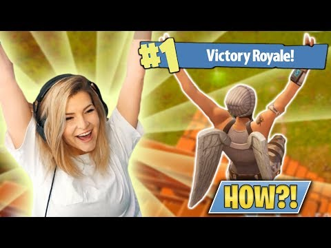 HOW DID I WIN THIS?! (Fortnite: Battle Royale) | KittyPlays